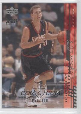 2000-01 Upper Deck Silver UD Exclusives #343 - Pepe Sanchez /100