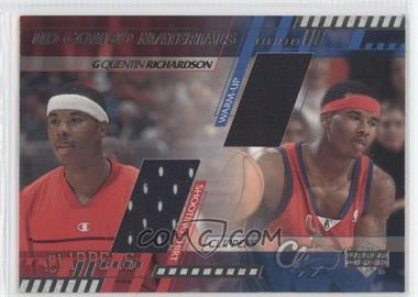 2000-01 Upper Deck UD Combo Materials #QR - Quentin Richardson