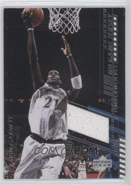 2000-01 Upper Deck UD Game Jersey Common #KG-C - Kevin Garnett