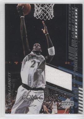 2000-01 Upper Deck UD Game Jersey #KG-C - Kevin Garnett