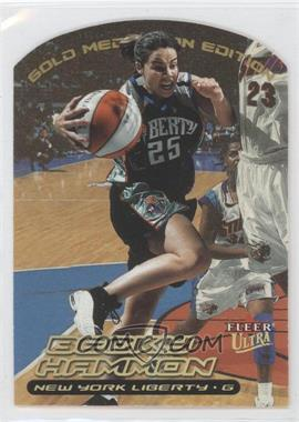2000 Fleer Ultra WNBA - [Base] - Gold Medallion Edition #21G - Becky Hammon