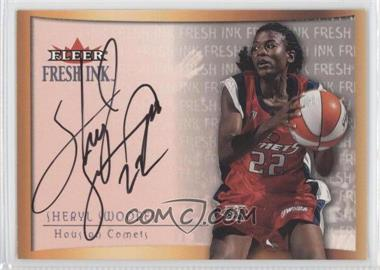 2000 Fleer Ultra WNBA Fresh Ink [Autographed] #SHSW - Sheryl Swoopes