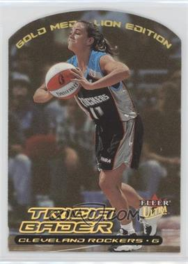 2000 Fleer Ultra WNBA Gold Medallion Edition #15G - Tricia Bader Binford
