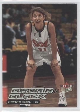 2000 Fleer Ultra WNBA #114 - Debbie Black