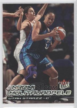 2000 Fleer Ultra WNBA #116 - Naomi Mulitauaopele