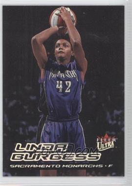 2000 Fleer Ultra WNBA #90 - Linda Burgess