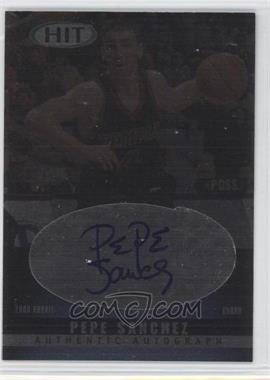 2000 Sage Hit Autographs Diamond #A14 - Pepe Sanchez