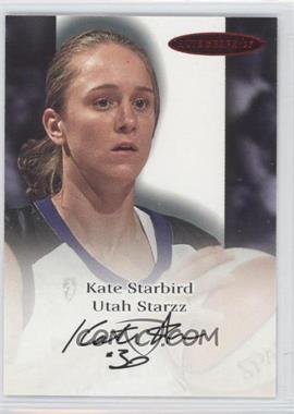 2000 Skybox Dominion WNBA Autographics [Autographed] #N/A - Kate Starbird
