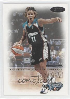 2000 Skybox Dominion WNBA #60 - Tricia Bader Binford