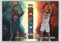 Vin Baker, Natalie Williams