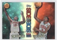 Tim Duncan, Lisa Leslie