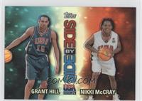 Grant Hill, Nikki McCray