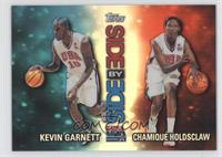 Chamique Holdsclaw, Kevin Garnett