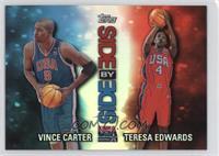 Vince Carter, Teresa Edwards