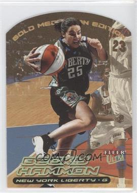 2000 Ultra WNBA Gold Medallion Edition #21G - Becky Hammon