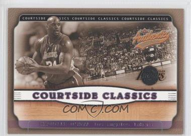 2001-02 Fleer Authentix Courtside Classics #14 CC - Shaquille O'Neal
