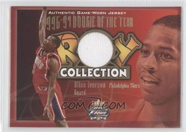 2001-02 Fleer Focus Jersey Edition ROY Collection Jerseys #ROY-AI - Allen Iverson