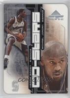 Kwame Brown, Michael Jordan