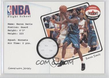 2001-02 Fleer Shoebox Collection NBA Flight School Jersey #BADA - Baron Davis