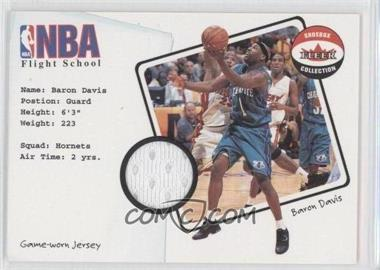 2001-02 Fleer Shoebox Collection NBA Flight School Jersey #N/A - Baron Davis
