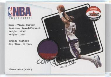 2001-02 Fleer Shoebox Collection NBA Flight School Patch #VICA - Vince Carter /75