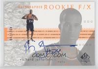 Autographed Rookie F/X - Richard Jefferson /700