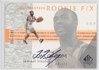 Autographed Rookie F/X - Jamaal Tinsley /700