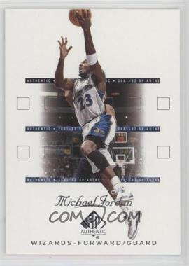 2001-02 SP Authentic - [Base] #90 - Michael Jordan