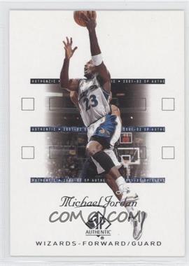 2001-02 SP Authentic #90 - Michael Jordan