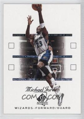 2001-02 SP Authentic #90 - Michael Jordan