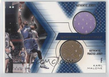 2001-02 SPx Winning Materials #KM - Karl Malone
