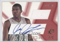 Signed Rookie Jersey - Joe Johnson (Red) /800