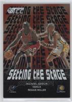 Michael Jordan vs. Reggie Miller