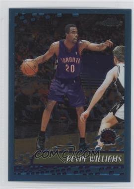 2001-02 Topps Chrome - [Base] #116 - Alvin Williams