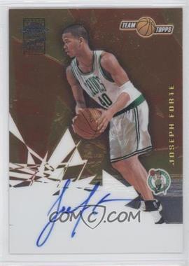 2001-02 Topps Chrome Autographs [Autographed] #CA-JF - Joseph Forte
