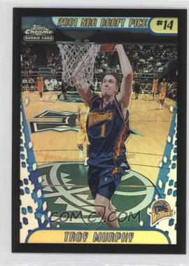 2001-02 Topps Chrome Black Border Refractor #142 - Troy Murphy /50