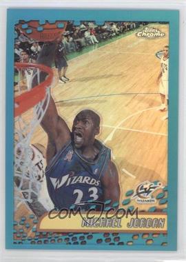 2001-02 Topps Chrome Refractor #95 - Michael Jordan