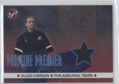 2001-02 Topps Pristine Pristine Premier #PR-AI - Allen Iverson