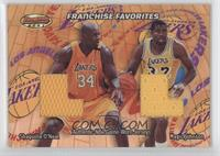 Shaquille O'Neal, Magic Johnson