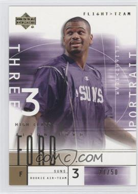 2001-02 Upper Deck Flight Team Gold #115.1 - Alton Ford /50