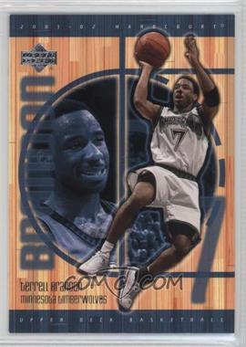 2001-02 Upper Deck Hardcourt - [Base] #50 - Terrell Brandon