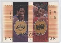 Kobe Bryant, Steve Francis /100