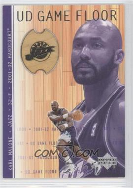 2001-02 Upper Deck Hardcourt UD Game Floor #KM - Karl Malone