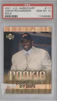 Jason Richardson (Off Court) /300 [PSA 10]
