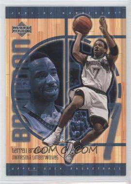 2001-02 Upper Deck Hardcourt #50 - Terrell Brandon