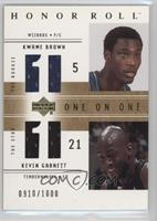 Kwame Brown, Kevin Garnett /1000