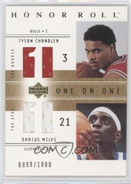2001-02 Upper Deck Honor Roll - [Base] #122 - Tyson Chandler, Darius Miles /1000