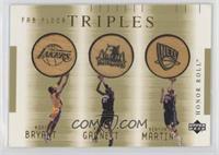 Kobe Bryant, Kevin Garnett, Kenyon Martin