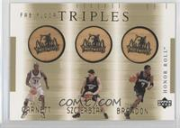 Wally Szczerbiak, Terrell Brandon, Kevin Garnett