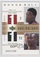 Eddy Curry, Karl Malone /1000